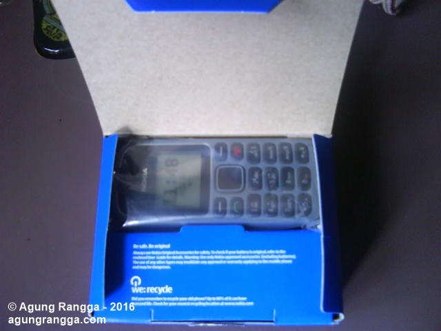 isi kemasan Nokia 1280