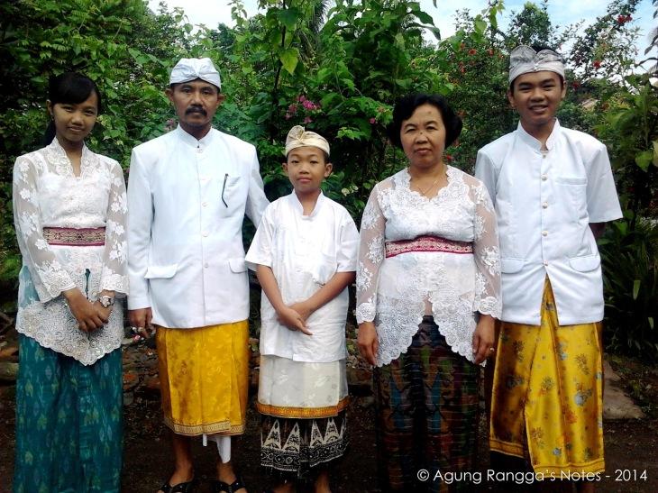 foto di rumah saudara di Lombok, NTB