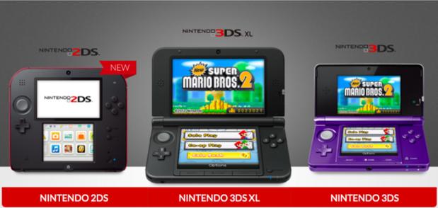 varian Nintendo 3DS