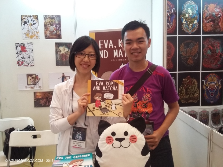 bersama Evangeline Neo, komikus Evacomics