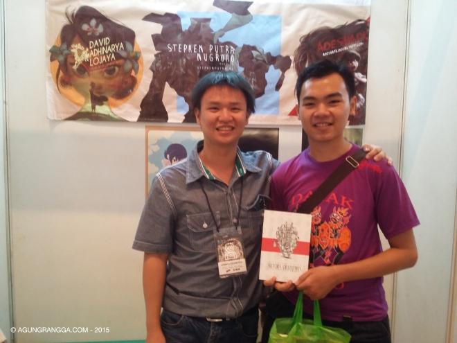bersama Stephen Putra Nugroho, ilustrator