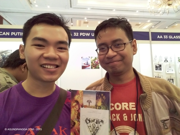 bersama C Suryo Laksono, komikus