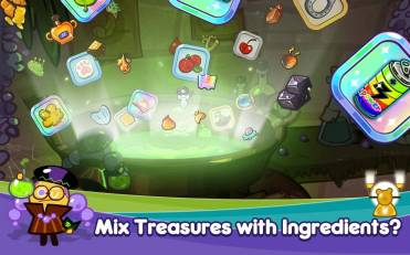 campur treasure dengan ingredients, dan evolusikan!