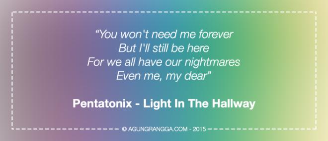 Pentatonix - Light In The Hallway