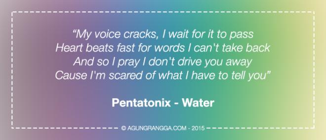 Pentatonix - Water