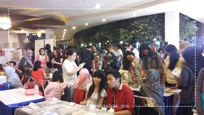 suasana Pasar Komik Bandung 2015