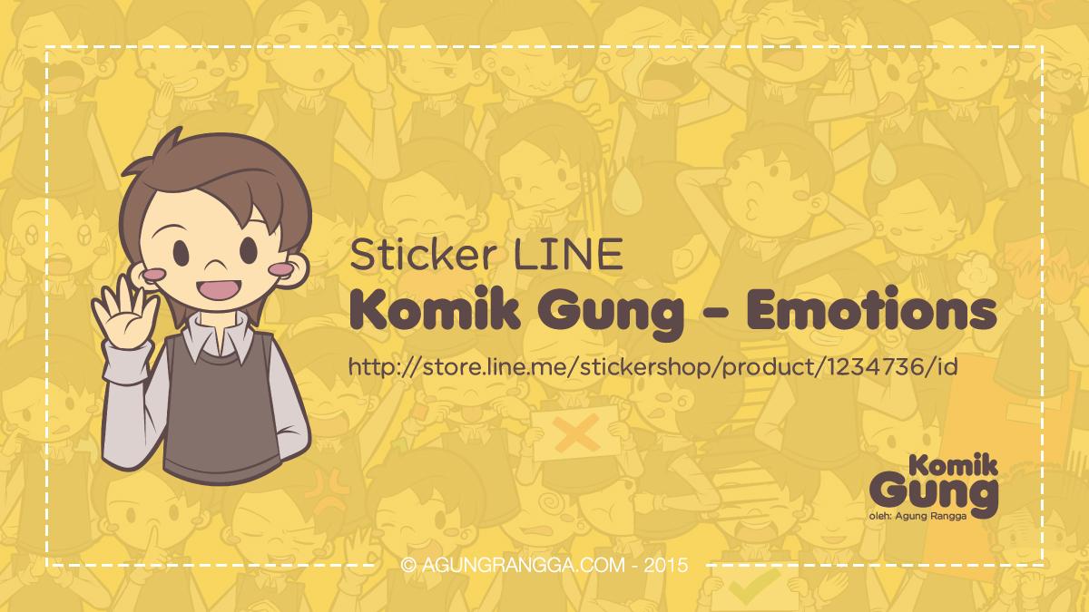Pengalaman Merilis Sticker LINE