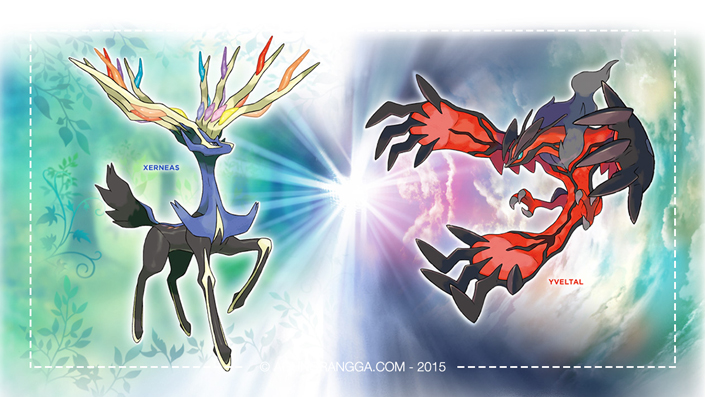Pokemon Legenda, Xerneas dan Yveltal