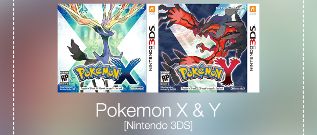 Pokemon X & Y [Nintendo 3DS]