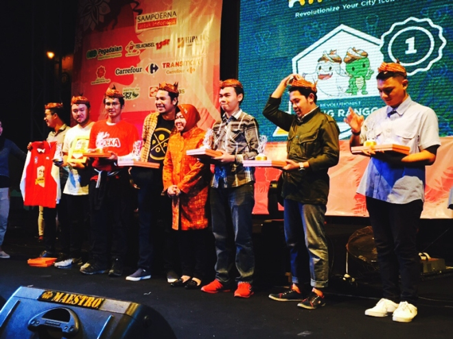 penghargaan dari Walikota Surabaya