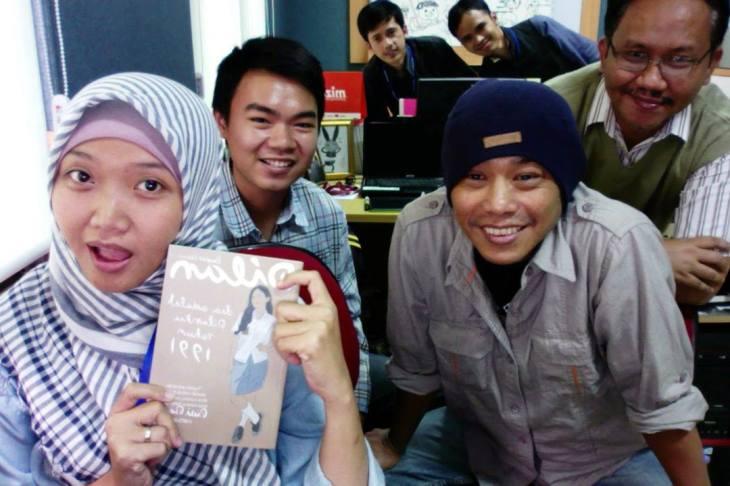 Foto bersama Pak Pidi Baiq
