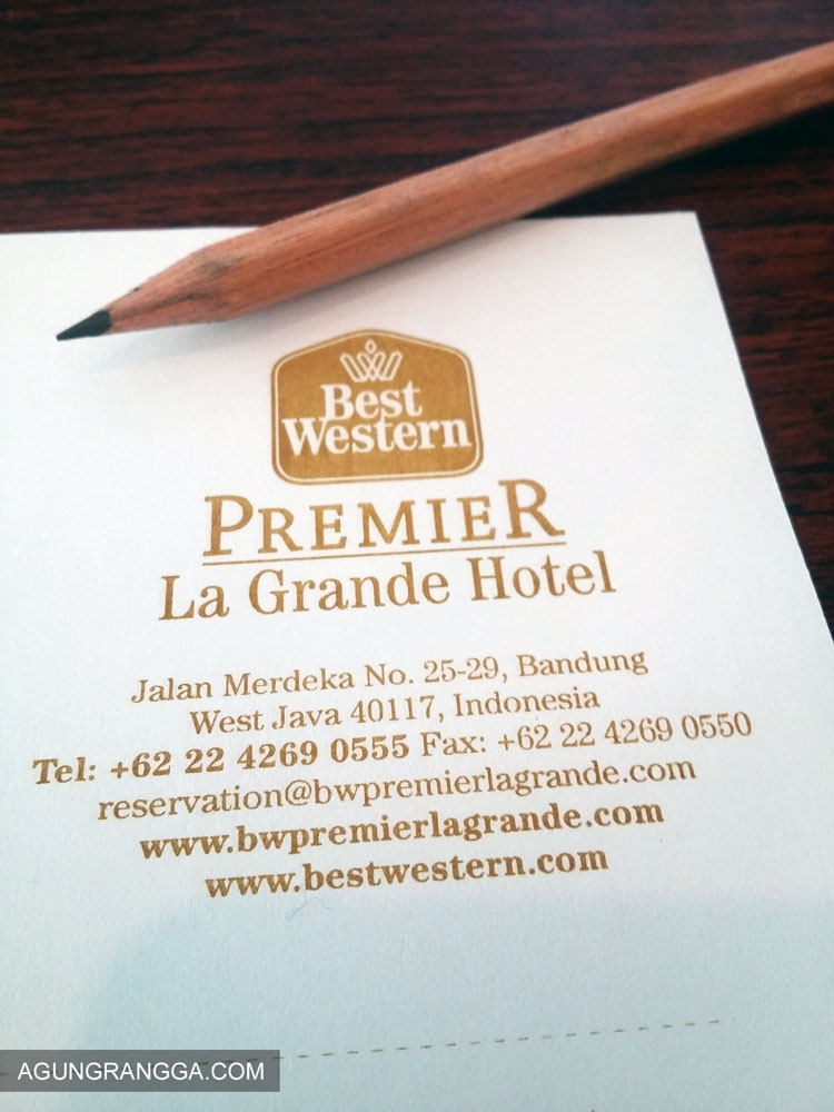 Alamat Hotel Best Western Bandung