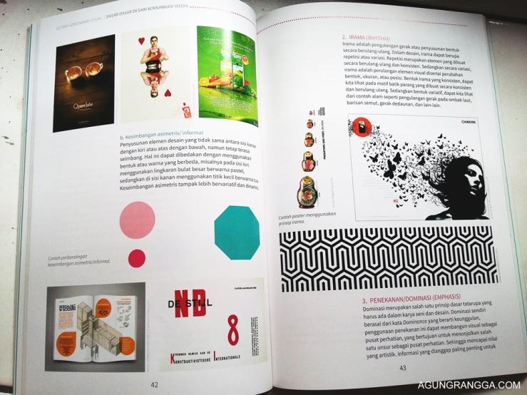 Bentuk layout buku yang sangat menarik