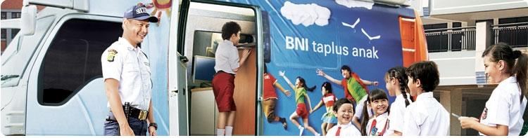 kini anak-anak juga bisa menabung di BNI
