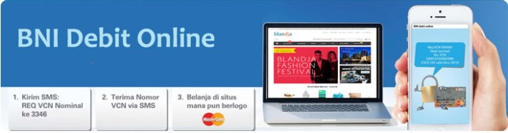 mudahnya belanja dengan BNI Debit Online