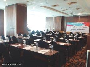 Ruang acara Road Blog Bandung