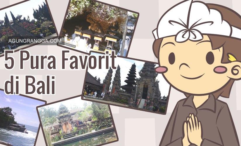 5 Pura Favorit di Bali