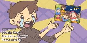 Desain Kartu Mandiri e-Money Tema Berbagi - Agung Rangga