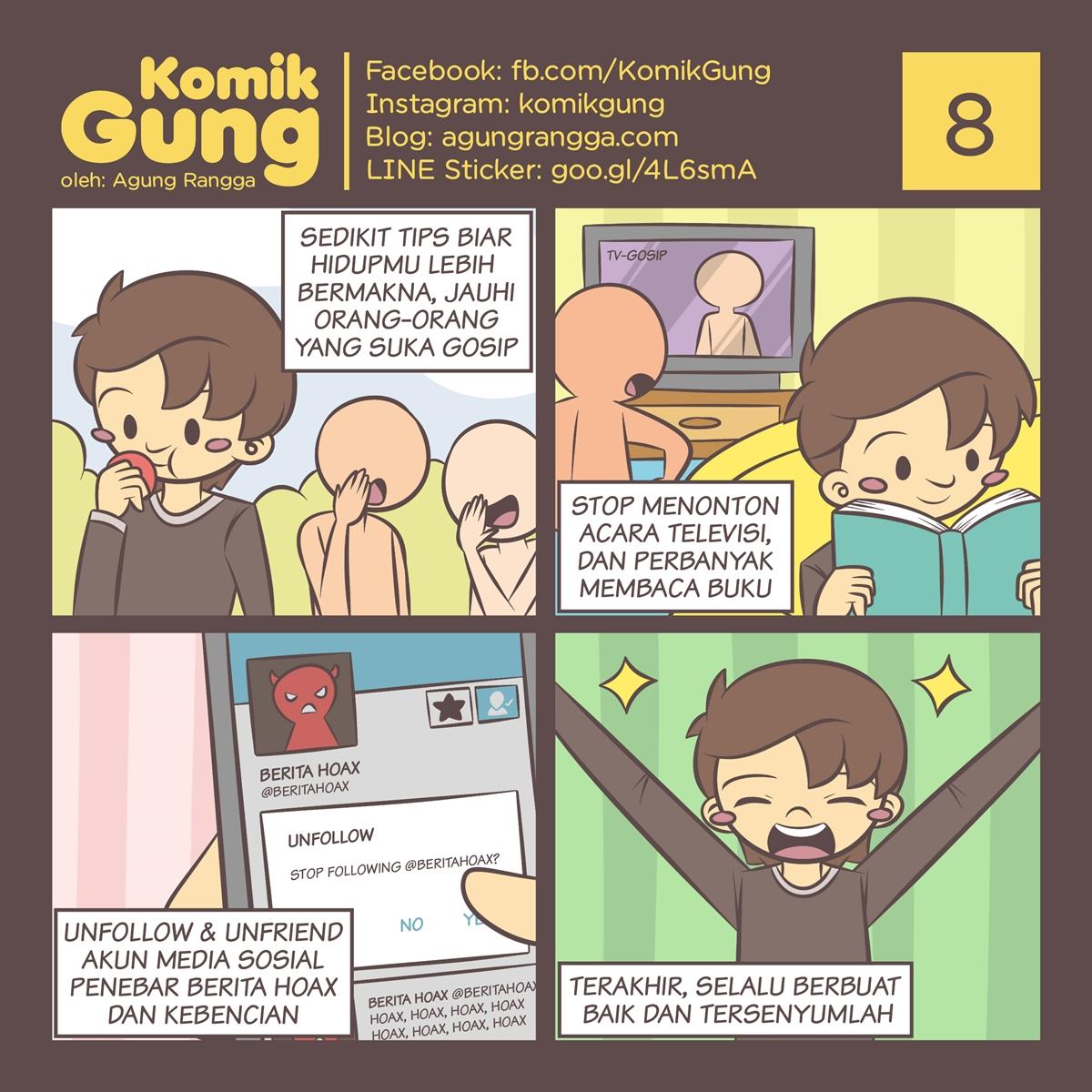 Komik Gung – 8