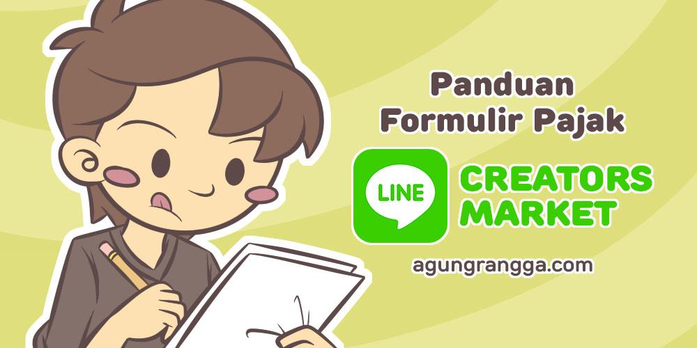 Panduan Formulir Pajak LINE Creators Market