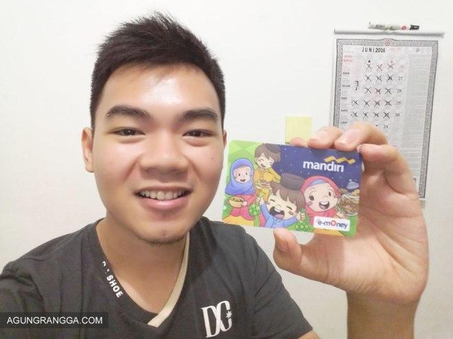 senangnya punya kartu Mandiri e-money