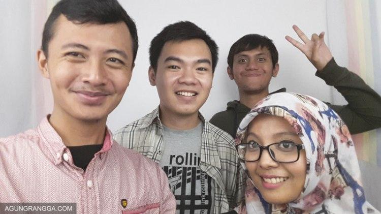 Selfie di photobooth Summarecon Mal Bekasi
