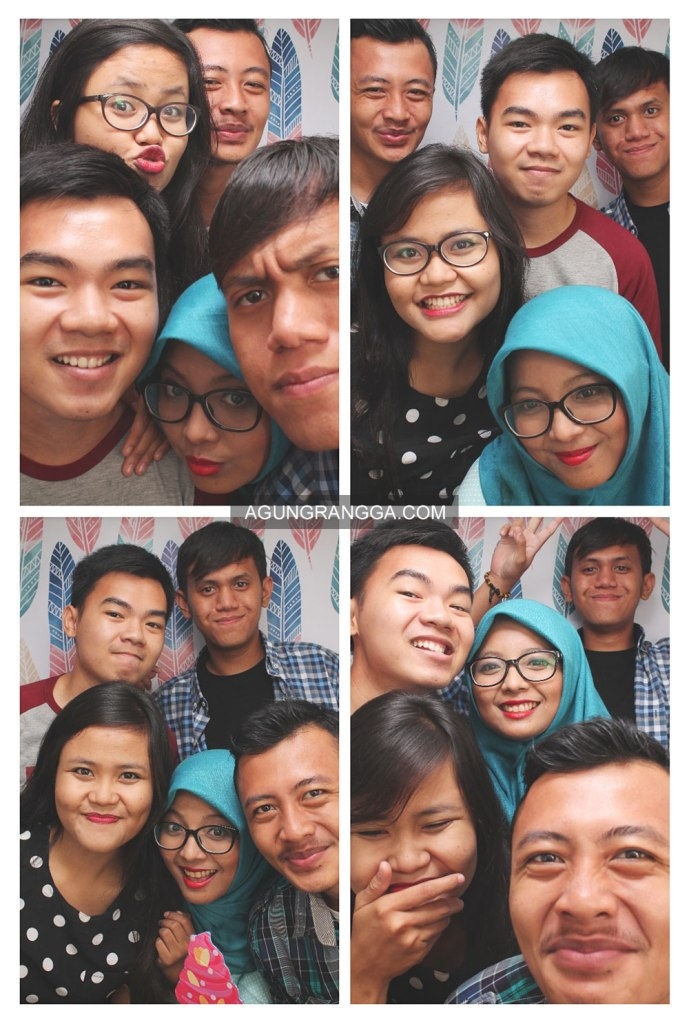 berdesakan di Photobox Origami