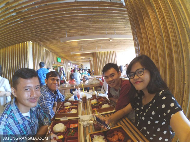 makan siang di Grand Indonesia