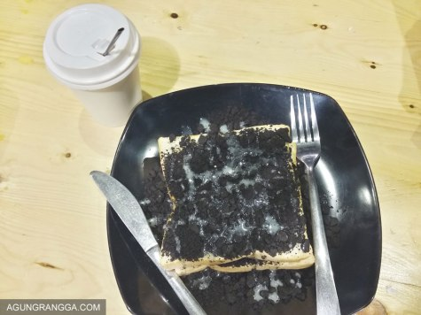 roti oreo di Meet Up Cafe