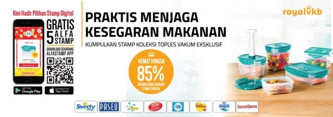 salah satu program promo stamp