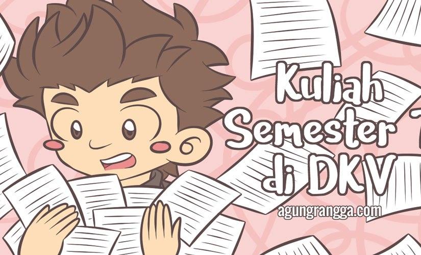 Kuliah Semester 7 di DKV