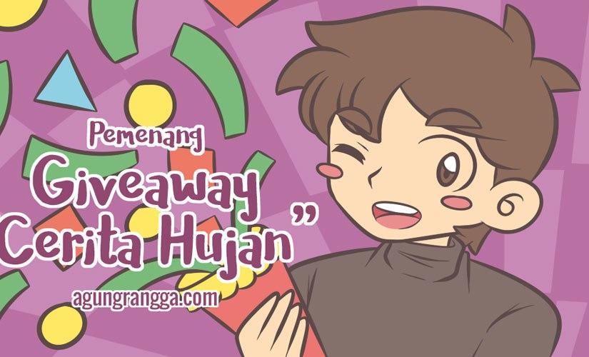 """Pemenang Giveaway """"CeritaHujan"""""""