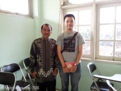 wawancara dengan guru pasraman