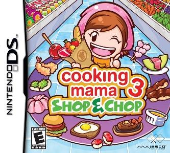 Cooking Mama 3 - Shop & Chop box