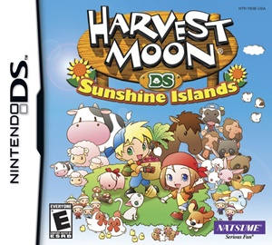 Harvest Moon DS – Sunshine Islands box