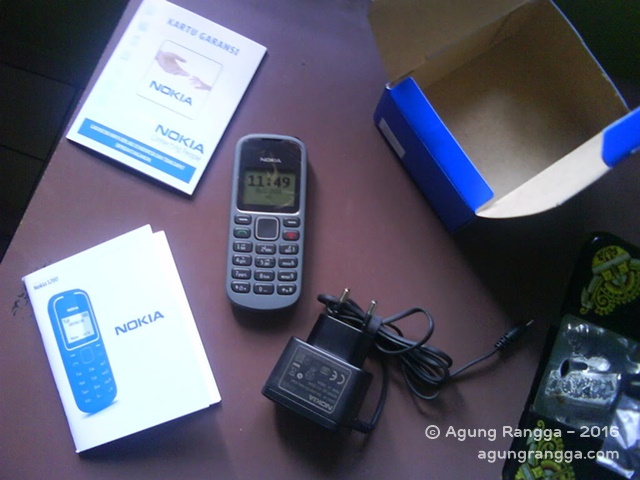 Nokia 1280 (My New Phone)