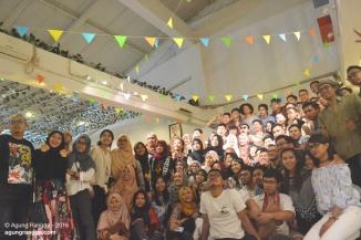 peserta farewell party dkv