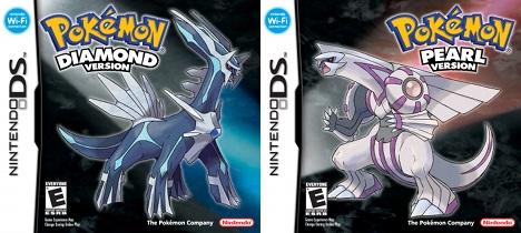 Pokemon Diamond & Pearl box