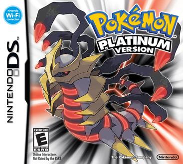 Pokemon Platinum box