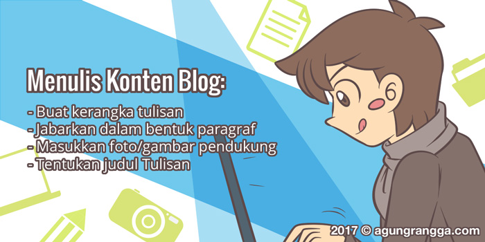 Menulis Konten Blog