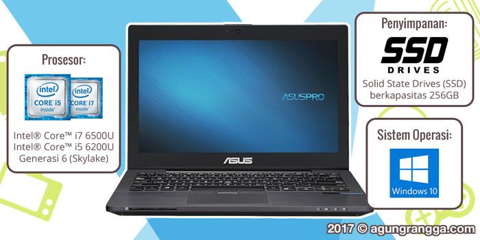 Prosesor, OS, Storage ASUSPRO B8230