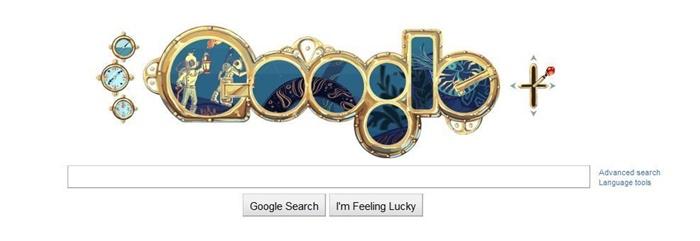 Today Google Doodle | JulesVerne