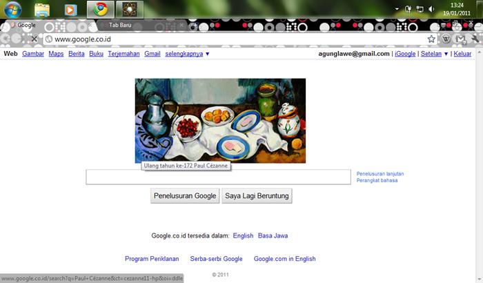 Today Google Doodle | PaulCézanne