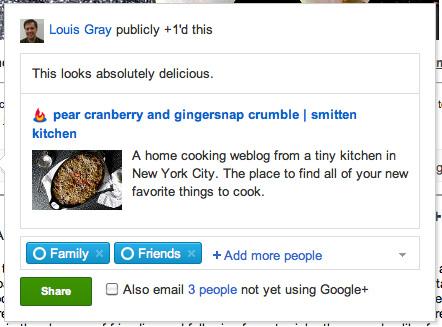 penambahan fitur +1 pada Google Reader