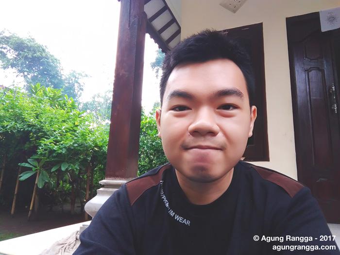 selfie pagi-pagi
