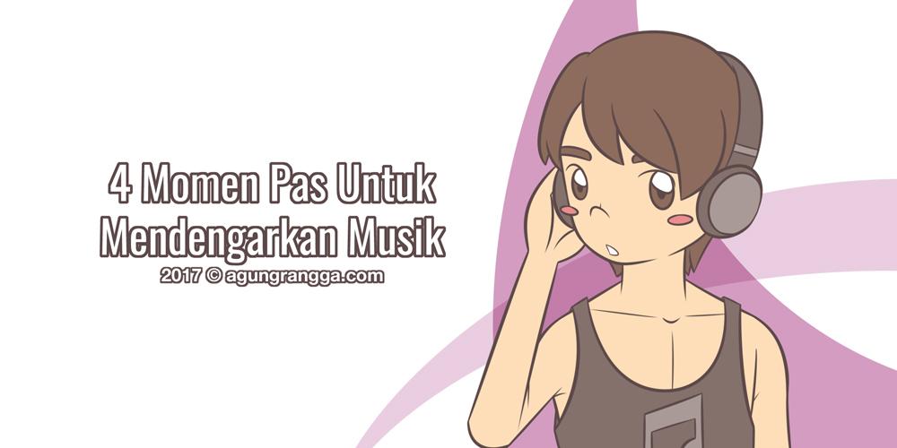 4 Momen Pas Untuk Mendengarkan Musik