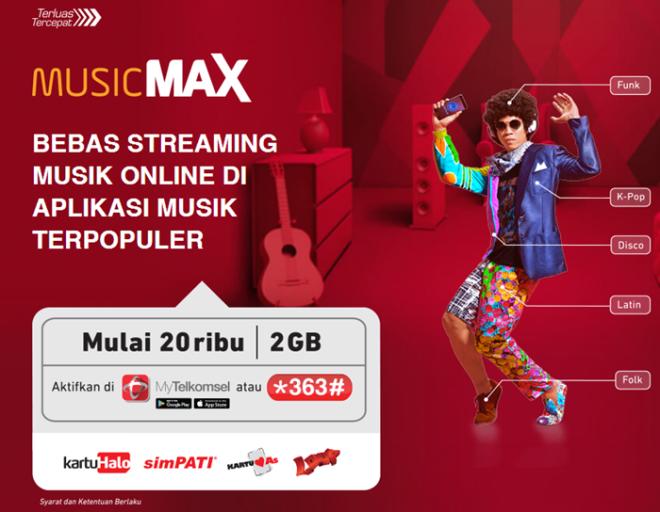 Telkomsel Musicmax