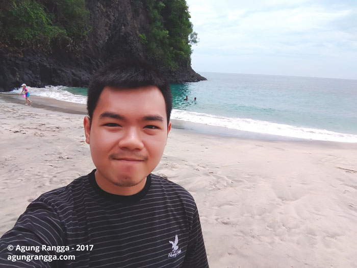 selfie di Virgin Beach
