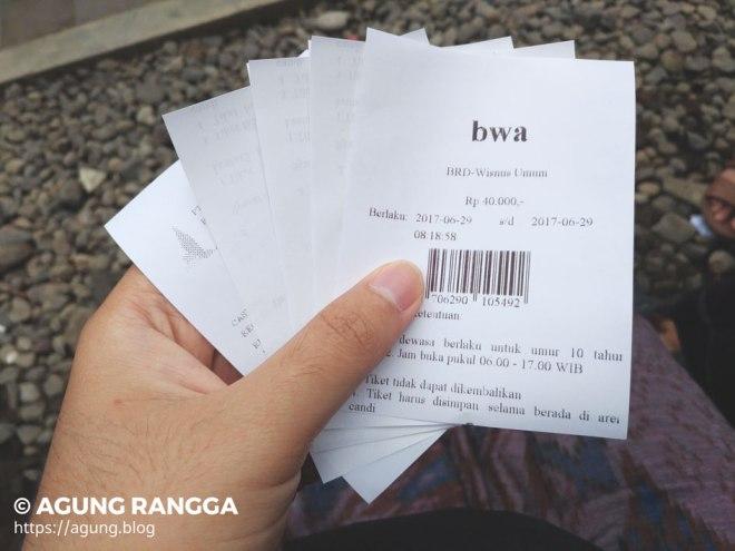 beli tiket masuk ke Candi Borobudur