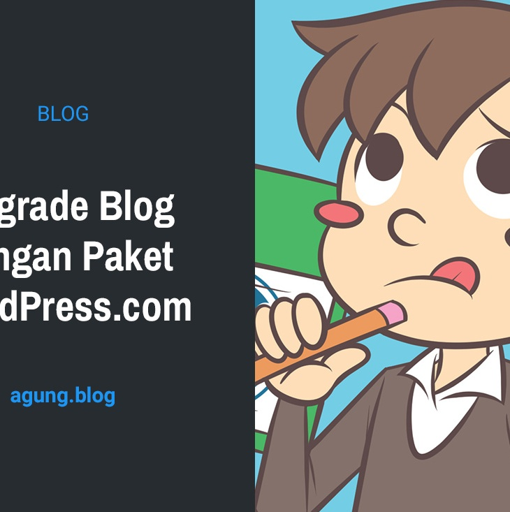 Upgrade Blog dengan Paket WordPress.com